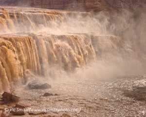 Water Fills the Grand Falls